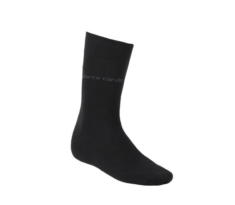 Pierre Cardin Ponožky 3 PACK Black