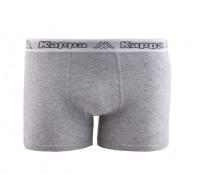 Kappa Boxerky SKIN QX110 Grey Melange