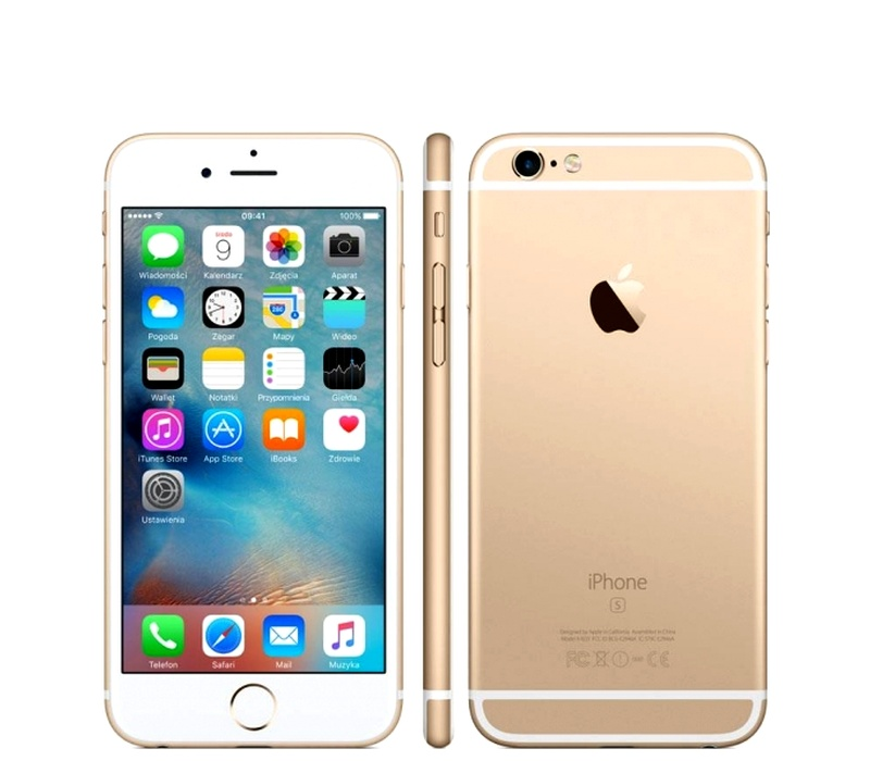 Apple iPhone 6S 64GB Gold Kategórie: B
