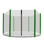 Aga Ochranná síť 275 cm na 6 tyčí Black net/ Dark Green