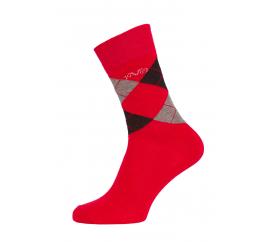 Versace 19.69 Ponožky BUSINESS 5-Pack Red-Black (C176)