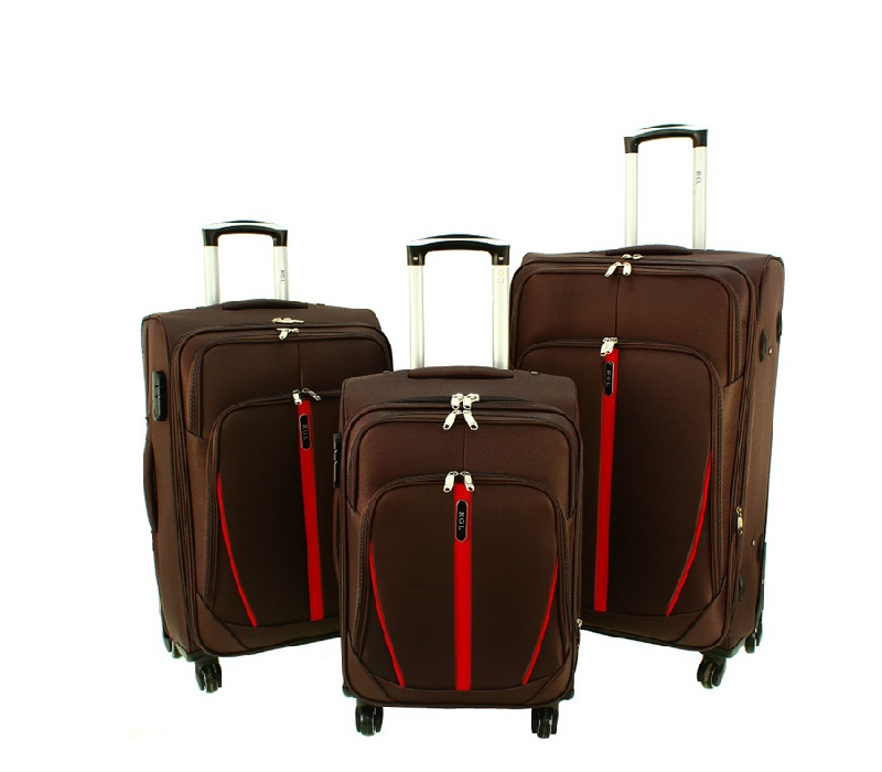 RGL Cestovní kufry HCS020 XXL,XL,L Barva: Brown