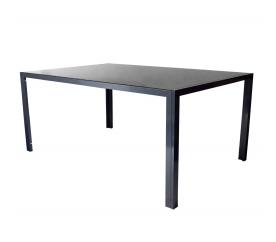 Aga Duży stół ogrodowy ze szklanym blatem MR4356A 160x90x74 cm