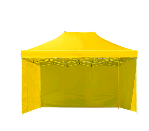 Aga Prodejní stánek 3S POP UP 3x4,5 m Yellow