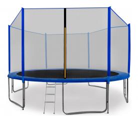 Aga SPORT PRO 430 cm trambulin Blue + létra + cipözsák
