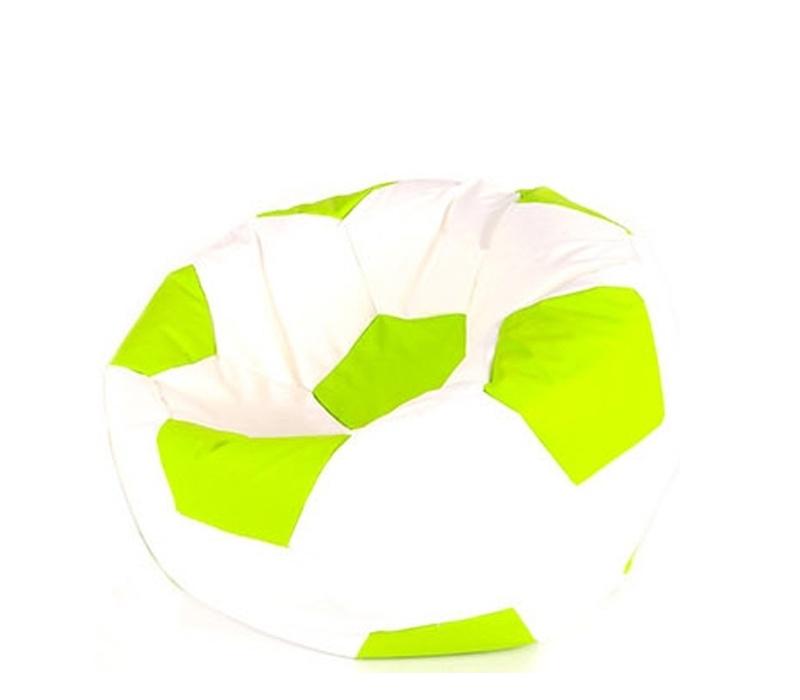 Aga Sedací vrece BALL Farba: Biela - Zelená