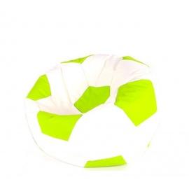 Aga Sedací pytel BALL XXXL Světle Zelená - Bílá