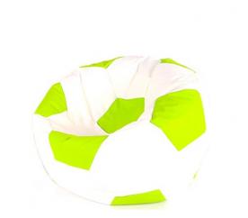 Aga Sedací vrece BALL Farba: Zelená -  Biela