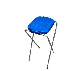 Aga Kosz stojak na worki do segregacji śmieci 1x120 l Niebieski