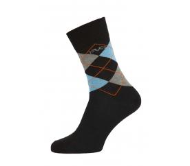 Versace 19.69 Ponožky BUSINESS 5-Pack Dark Black-Blue (C180)