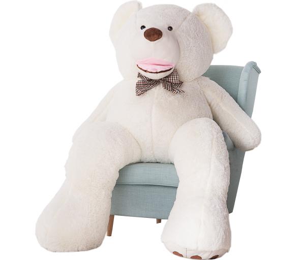 Aga4Kids Plyšový medvěd 190 cm Amigo White