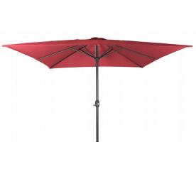 Linder Exclusiv Slunečník čtvercový 250 cm Red