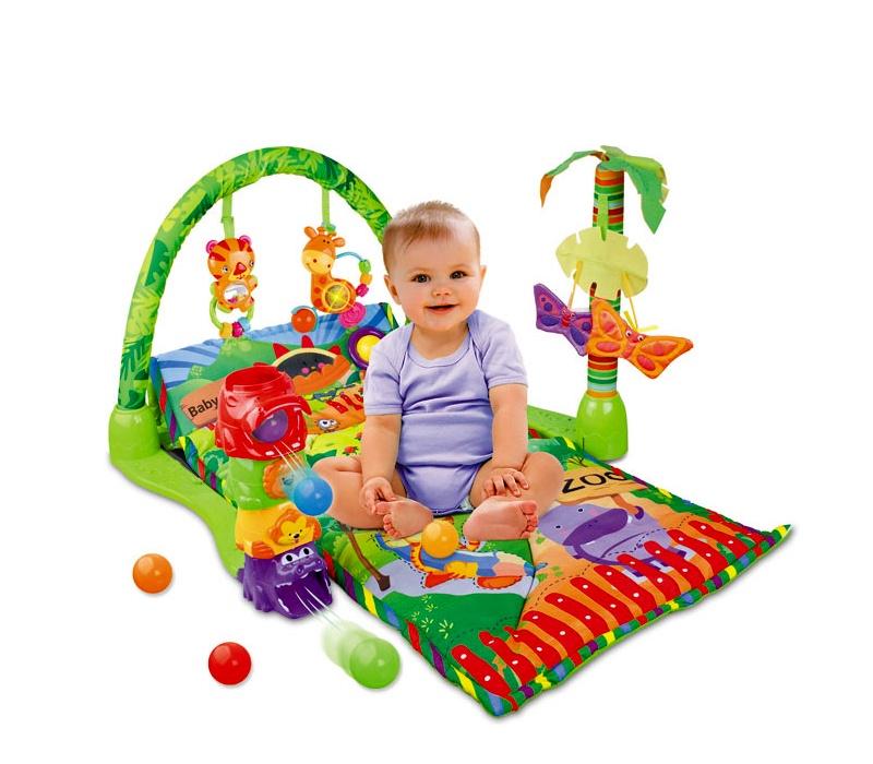 Doris Hrací deka s míčky BABY PLAY MAT FOREST 3159