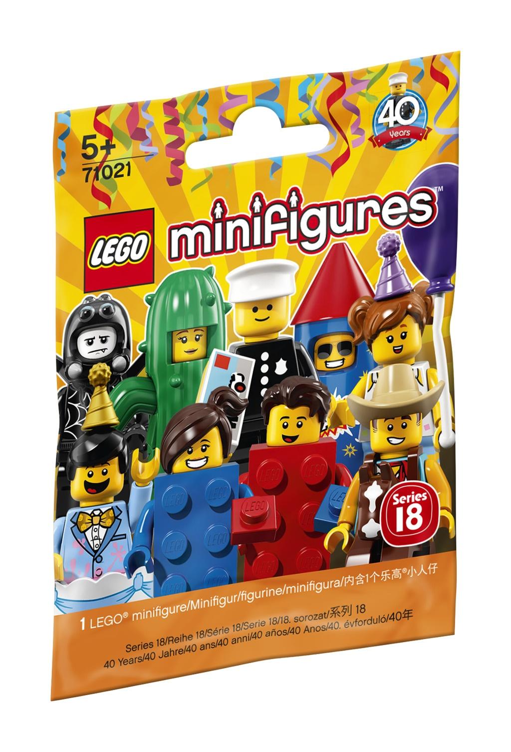 Minifigurky 18. série