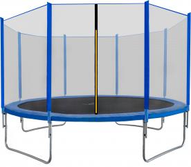 Aga SPORT TOP Trampolína 430 cm Blue + ochranná síť