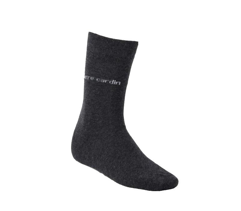 Pierre Cardin Ponožky 3 PACK Anthracit