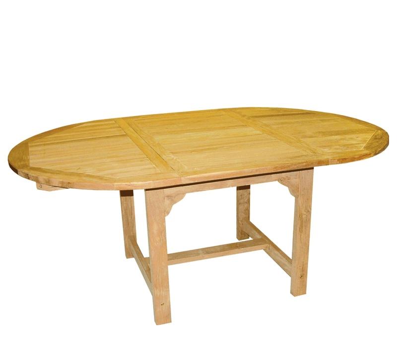 Linder Exclusiv Zahradní stůl TEAK OVAL DF53 180x120x75 cm