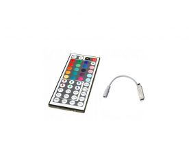 Aga  IR távirányító RGB LED szalaghoz - 44 gomb