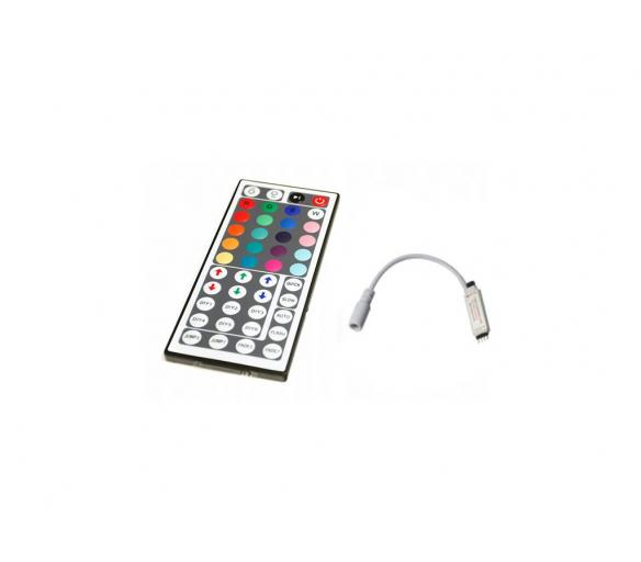 Aga Dálkový IR ovladač k RGB LED pásku - 44 tlačítek