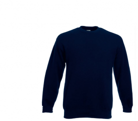 Fruit of the Loom Bluza SET-IN SWEAT Deep Navy