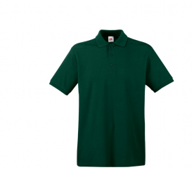 Fruit Of The Loom Tričko PREMIUM POLO Forest Green