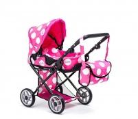 Doris Kočík pre bábiky 9346 Hot Pink & Black
