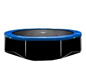 AGA 400 cm (13 ft) trambulin alsó védőháló