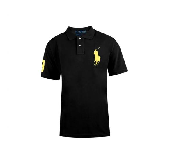 Ralph Lauren CUSTOM-FIT Black Big Pony Yellow