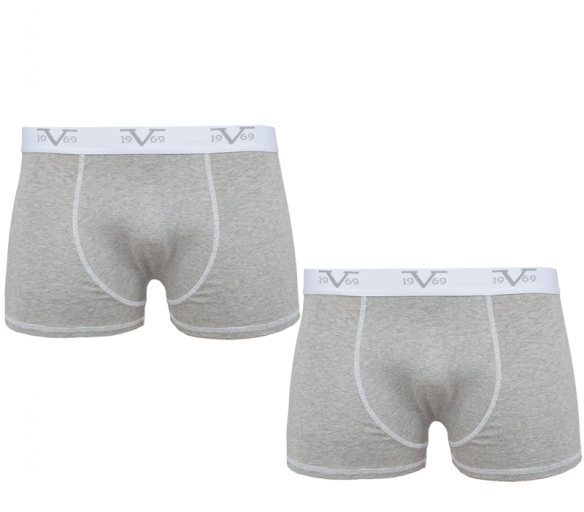 Versace Chlapecké boxerky 2-Pack Grey C14
