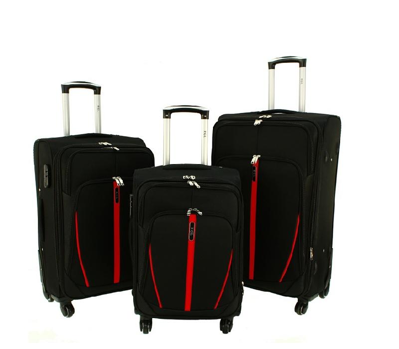 RGL Cestovní kufry HCS020 XXL,XL,L Barva: Black