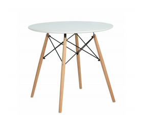 Aga Jídelní stůl 60 cm White