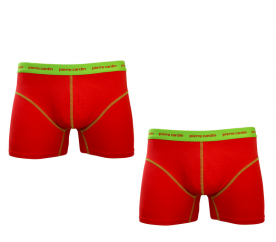 PIERRE CARDIN Boxerky 2-PACK PCU97 Rosso