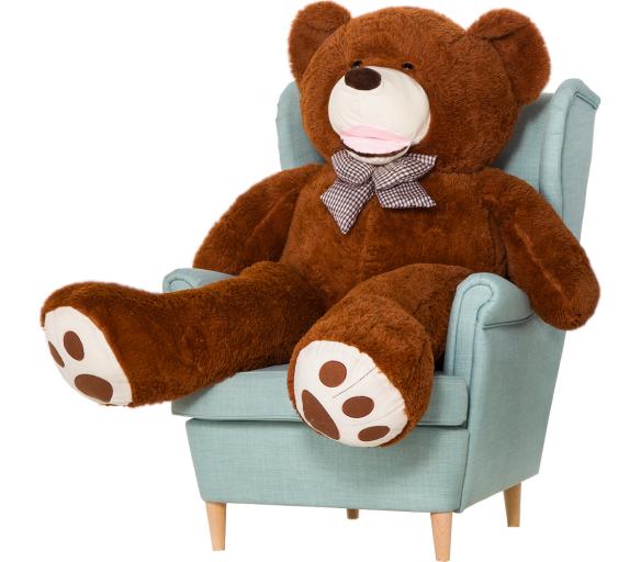 Aga4Kids Plyšový medvěd 160 cm Amigo Brown
