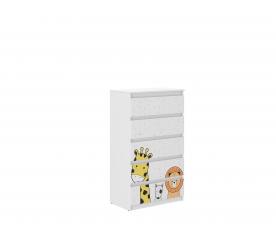 Wooden Toys Dětská komoda Mini ZOO R-5