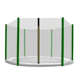 Chiemsee Ochranná síť 305 cm na 6 tyčí Dark Green