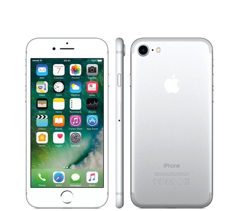 Apple iPhone 7 128GB Silver Kategorie: B