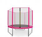 Aga SPORT PRO Trampolína 150 cm Pink + ochranná síť