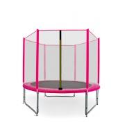 Aga SPORT PRO Trambulin 150 cm Pink + védőháló