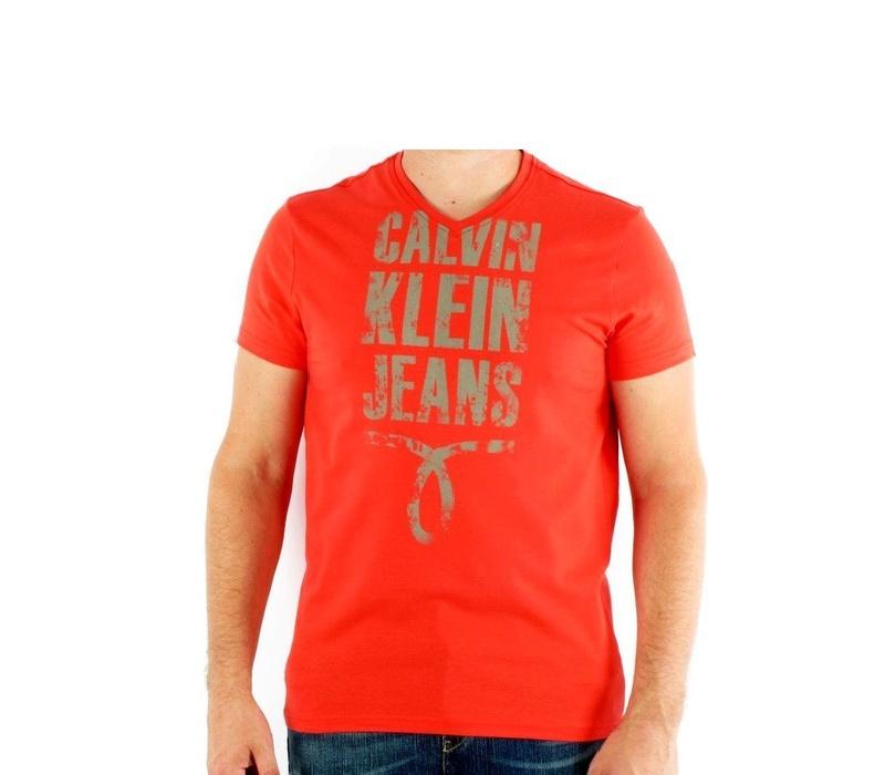 CALVIN KLEIN Tričko cmp25p 529 Rouge
