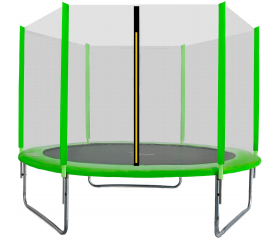 Aga SPORT TOP Trampolína 180 cm Light Green + ochranná síť