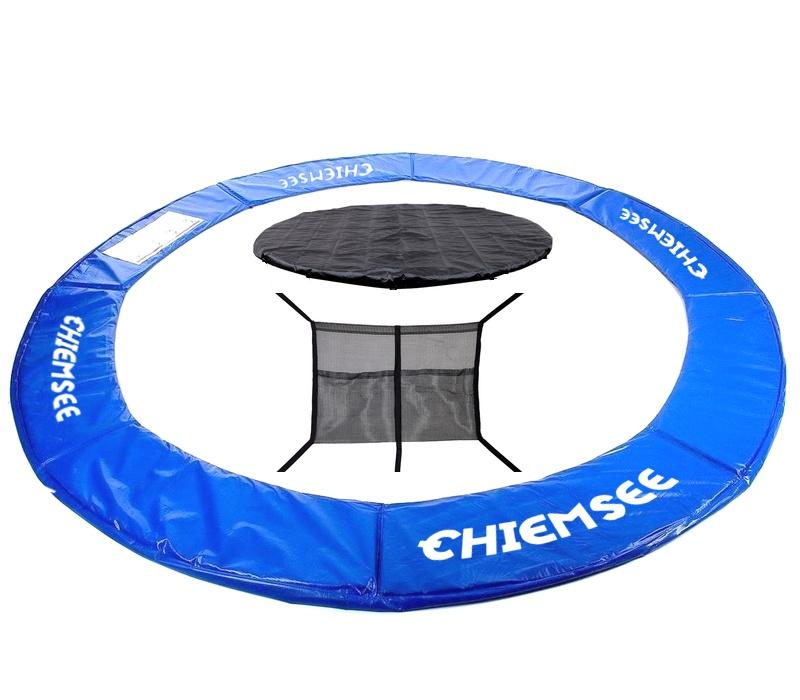 Chiemsee Kryt pružin + Plachta + Kapsa na obuv 430 cm Blue