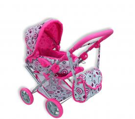 Doris Kočárek pro panenky 9346 Hot Pink 3