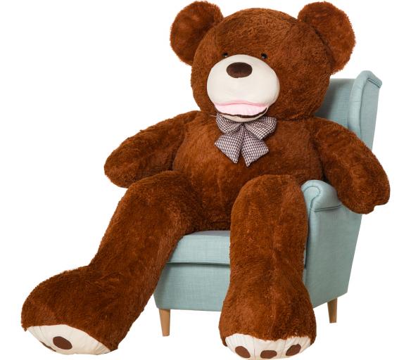 Aga4Kids Plyšový medvěd 190 cm Amigo Brown