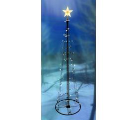 Linder Exclusiv Světelný vánoční stromeček 106 LED 180 cm s 8 funkcemi