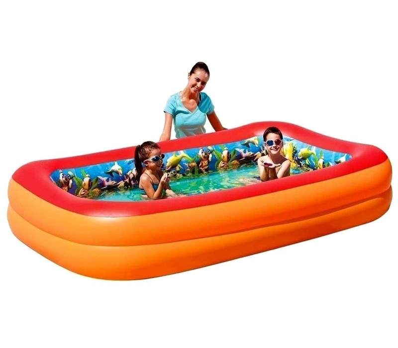 BESTWAY 54114 Potápěči 3D 262x175x51cm