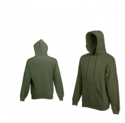 Fruit Of The Loom HOODED SWEAT Khaki pulóver