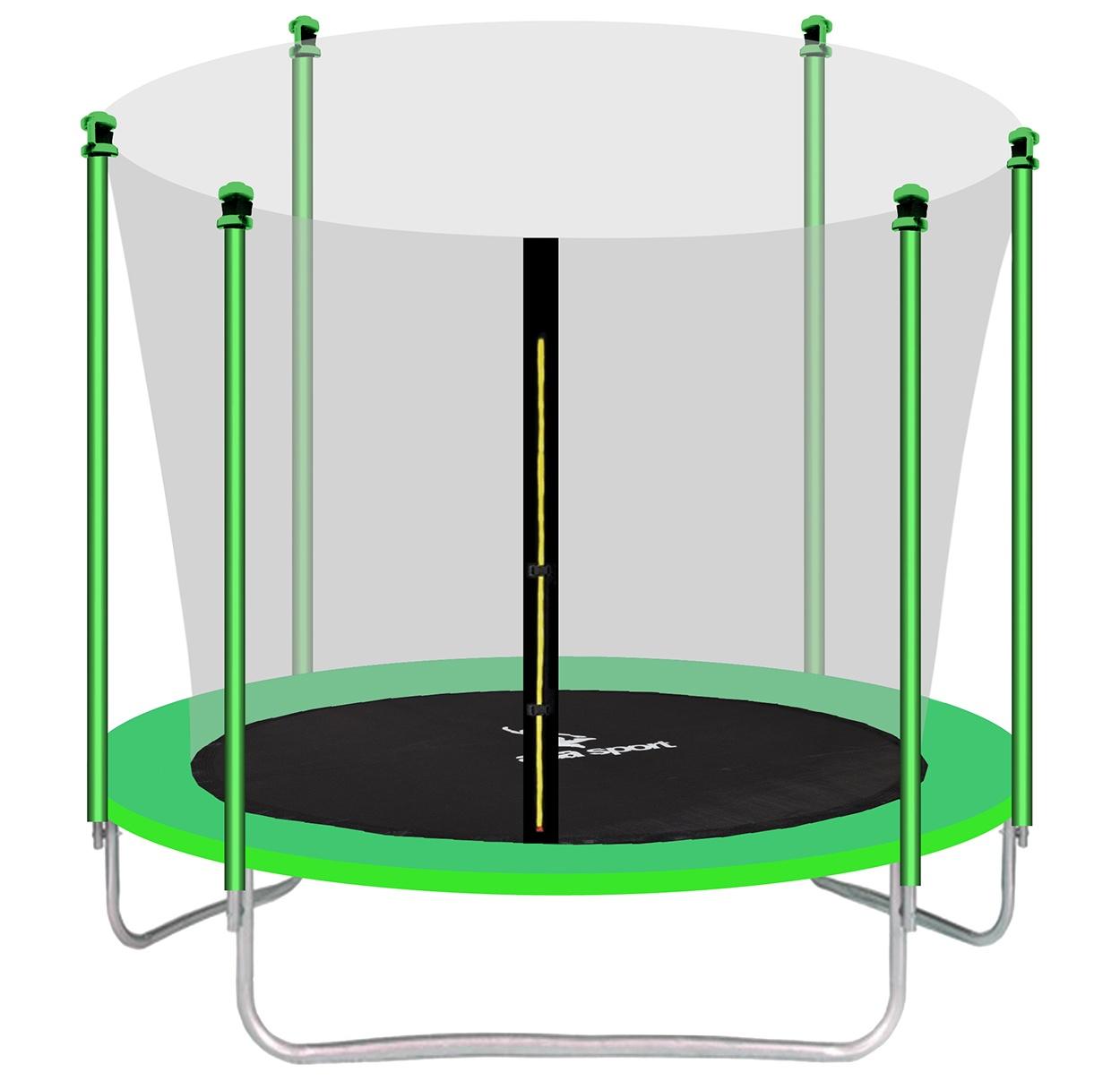 Aga SPORT FIT Trampolína 305 cm Light Green + vnitřní ochranná síť 2018