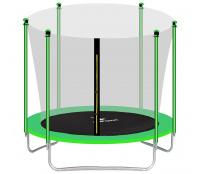 Aga SPORT FIT Trampolína 305 cm Light Green + vnitřní ochranná síť