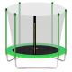 Aga SPORT FIT Trampolína 305 cm Light Green + vnitřní ochranná síť + žebřík