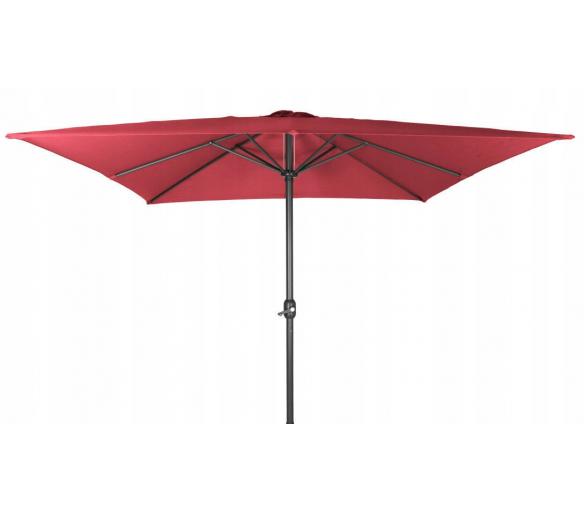 Linder Exclusiv Slunečník čtvercový 300 cm Red